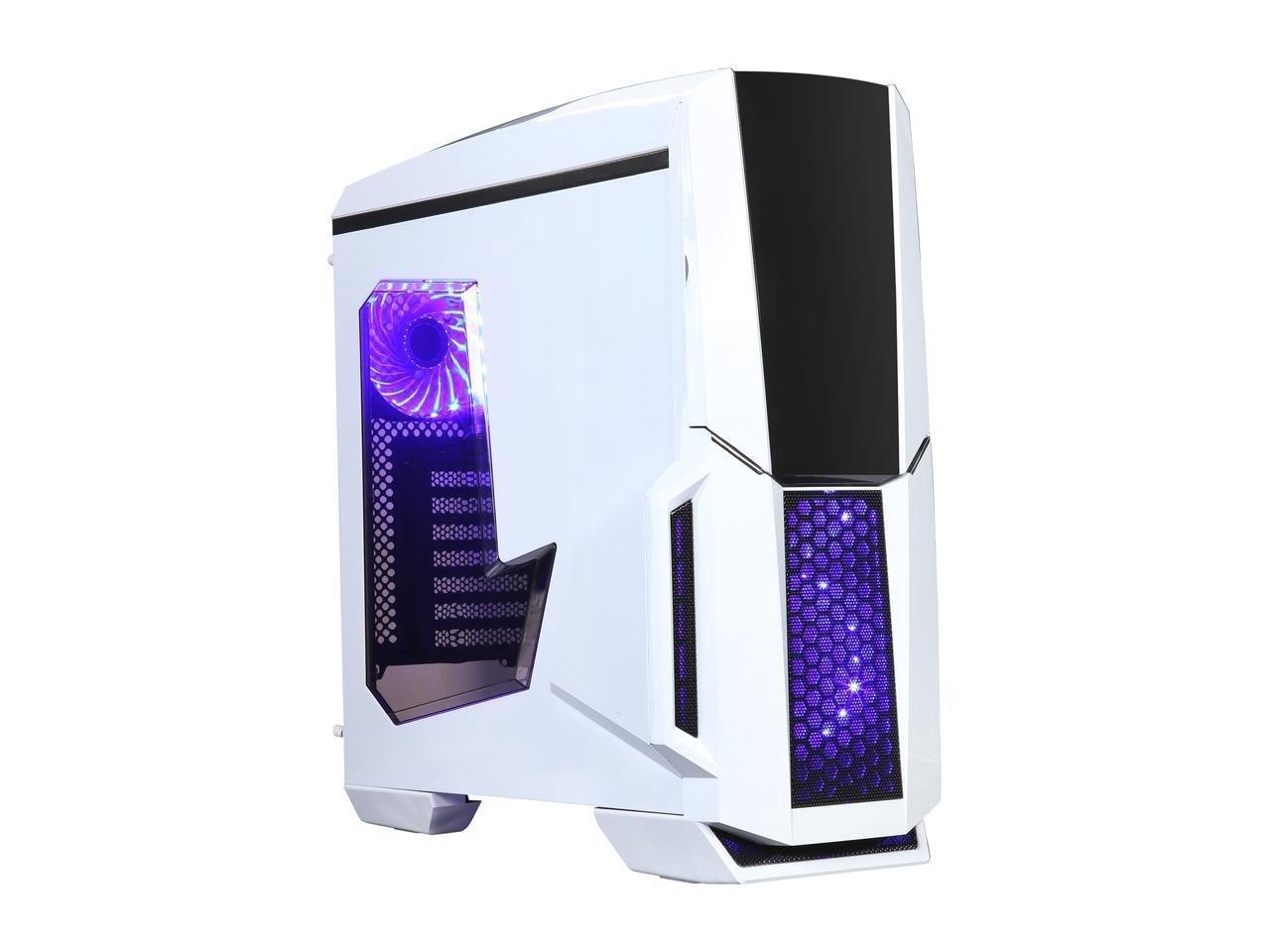 Diypc Gamemax W Rgb White Dual Usb 3 0 Atx Full Tower